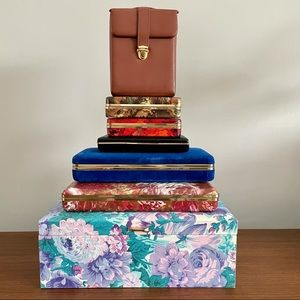 💕Collection of Vintage Jewelry Boxes💕